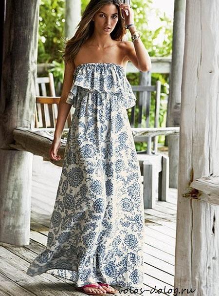 38e003625419f71 Модные летние платья в пол на красивых фото — Мода в одном клике