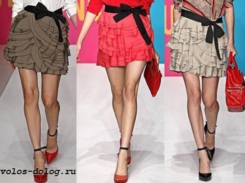 Модные юбки 2014 фото