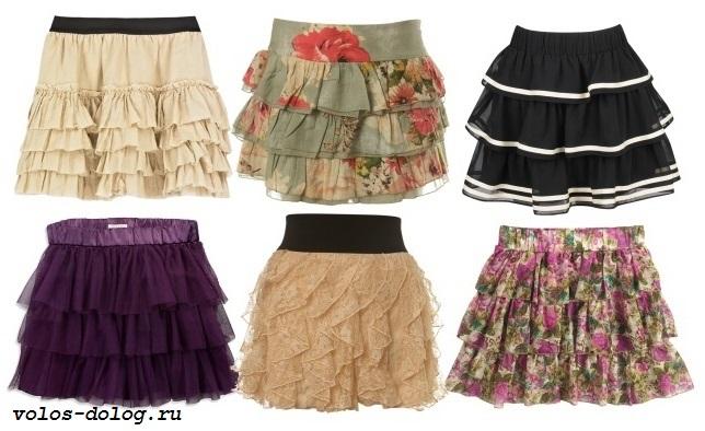 Модные юбки 2014 года фото