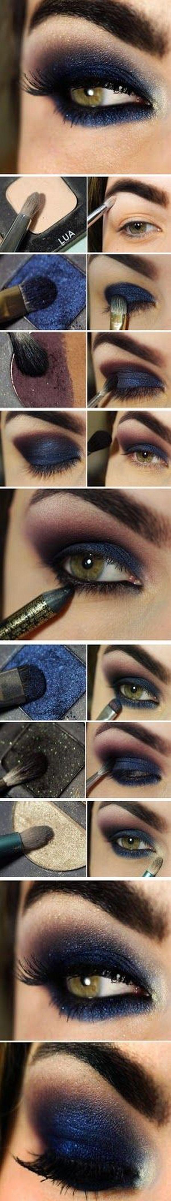 Макияж глаз с нависшим веком 18
