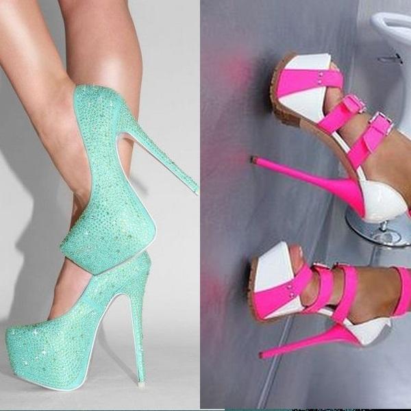 Женские туфли на высоком каблуке 2019  интересные модели — Volos ... 4ed2d4382d6cf